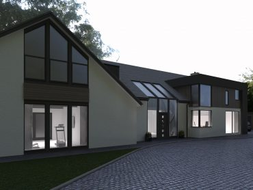 Extension and alterations for planning permission in Brocton Stafford