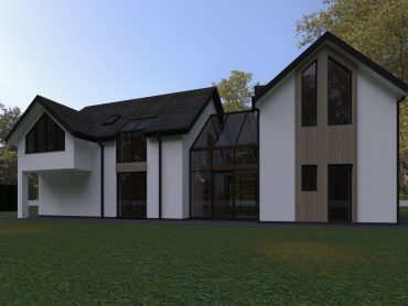 Planning application for a new family home in Dunston, Stafford.